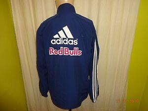 RB Leipzig Adidas Junioren U15 Spieler Trainingsanzug Jacke 10/11 + Nr.9 Gr.M- L
