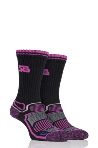 Ladies 2 Pair Storm Bloc with BlueGuard Aerobic Socks