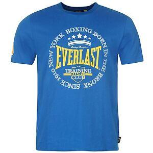 T-Shirt-Homme-EVERLAST-Du-S-au-XXL-Taille-Grand-Neuf