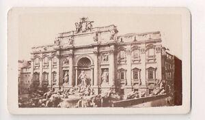 Vintage-CDV-Trevi-Fountain-Rome-Italy