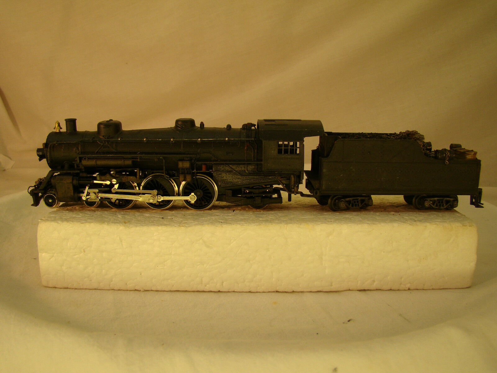 4-6-2  Logging Locomotive - custom weatherosso - full serviced - HO scale - lot 11