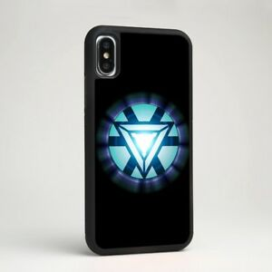 Iron Man Armor Symbol Avengers Silicone Case Cover for