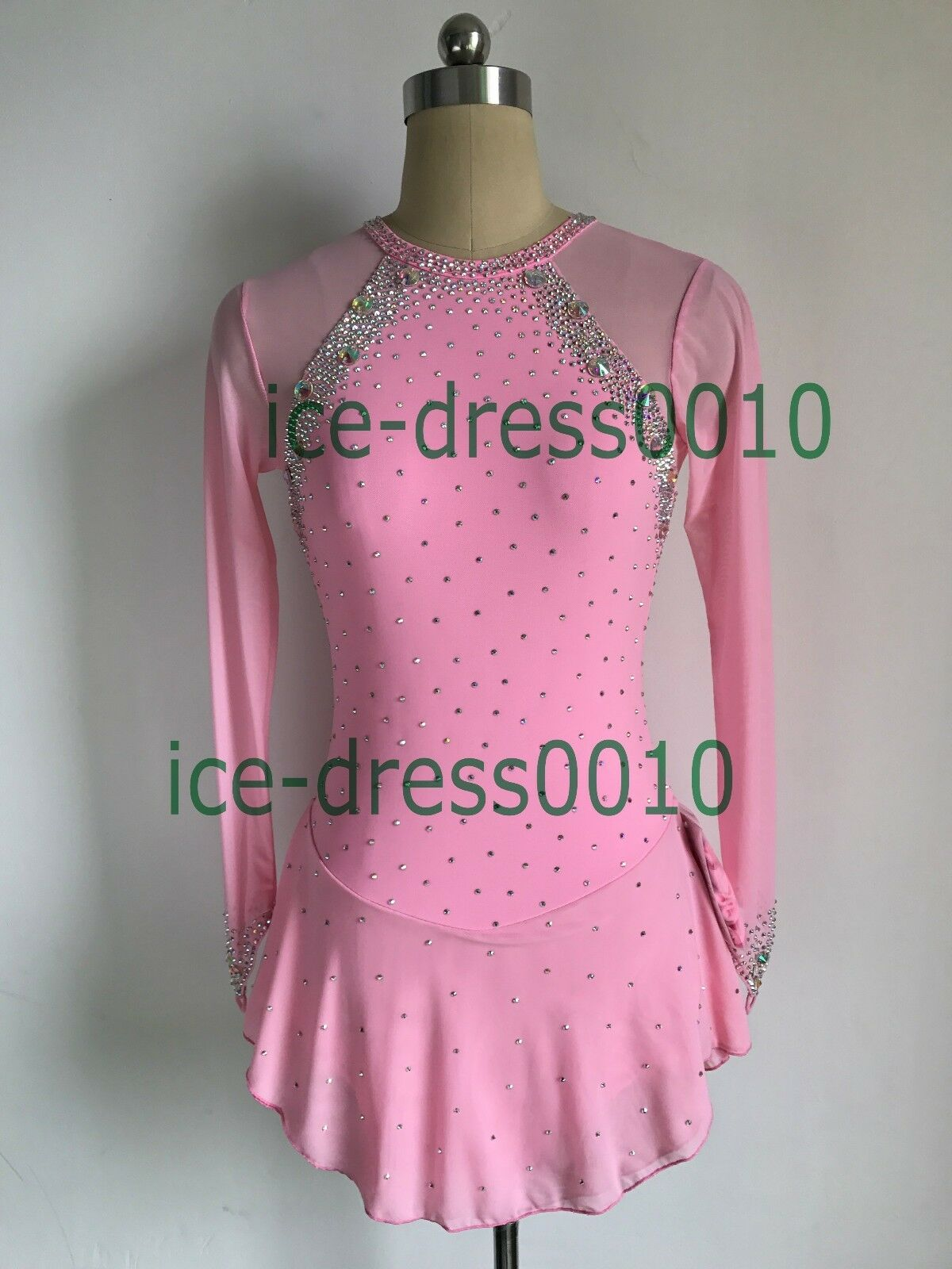 2018 new style Figure Skating Ice Skating Dress Gymnastics Costume 129-13