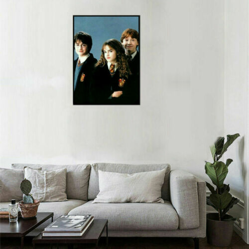 5D Diamond Painting Full Drill Harry Character Embroidery Cross Stitch Decors