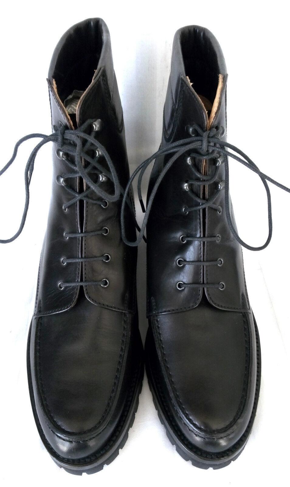 Grand Step señora señora señora botas botines negro teñido trapecios talla 38 como nuevo f2a932