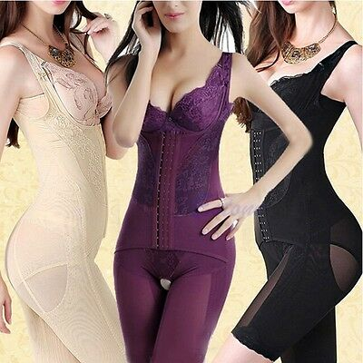Women Full Body waist cincher tummy Shaper Shapewear Sexy Body Suit Underwear