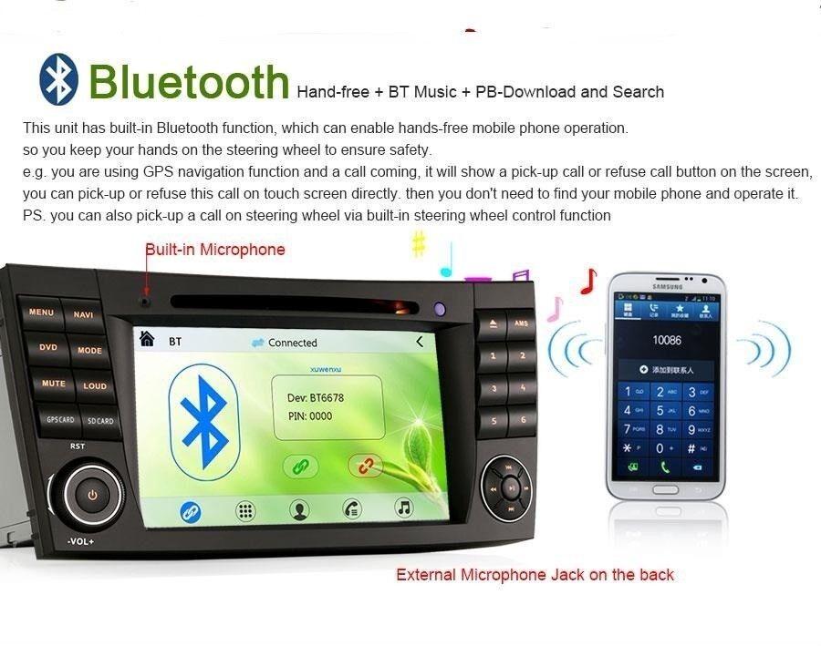 Multimedia system, Andet mærke Mercedes Android