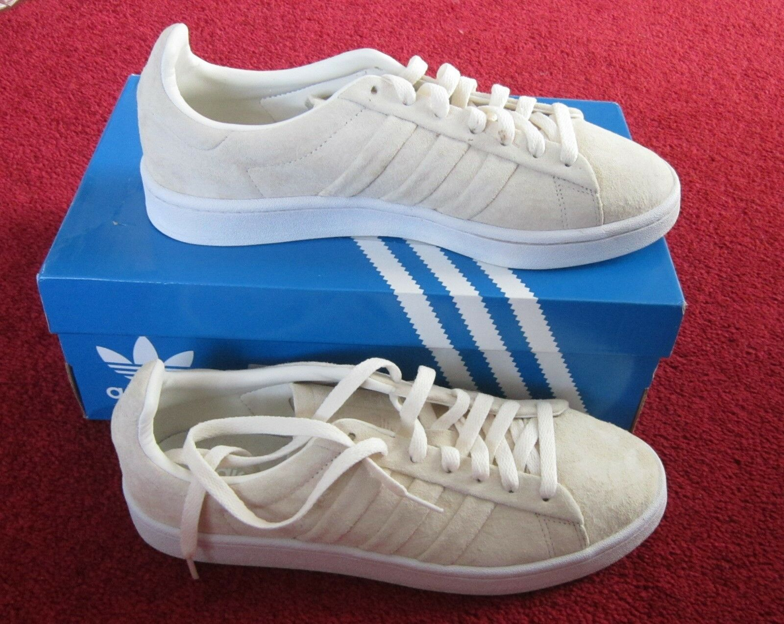 New In Box Adidas Campus Stitch and Turn shoes Men's Trainers U.K Size 7.5