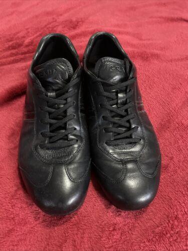 prada sneakers men Leather