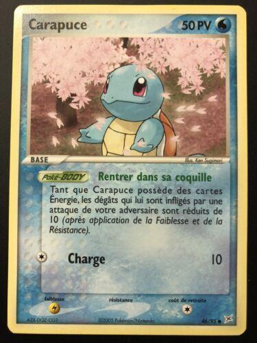Pokemon Card Squirtle 46//95 Team Aqua Vs Team Magma Fr New