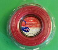 String Trimmer Cutting Line .065 Red Round Line Usa Made 300 Ft