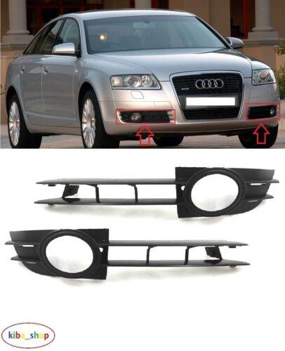 droit Audi A6 2005-2008 Nouveau Pare-chocs Avant Brouillard Lampe Grill Grilles gauche