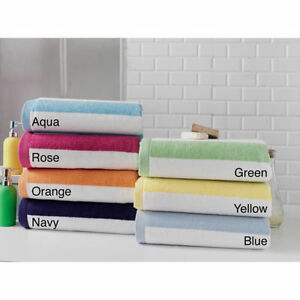 100% Turkish Combed Cotton Phaselis Cabana Stripe Beach Towels 35x70