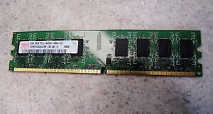 HYNIX 2GB 2Rx8 PC2-6400 DDR2 800MHz NON-ECC HYMP125U64CP8-S6 AB-C Ram Memory