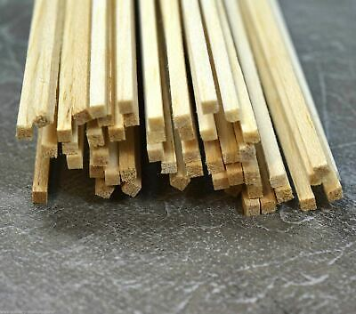 Colto Wws Balsa Wood Strips 3.2 X 3.2 X 305 Mm (1/8 X 1/8 X 12 Inch) - 45 Pack – Model Ritardare La Senilità