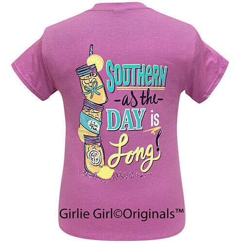 Girlie Girl Originals Tees Southern Long Day Short Sleeve T-Shirt - 2251