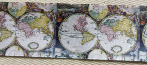 5 yds ASST NOVELTY PRINTED SINGLE FACE SATIN RIBBON your choice of 6 prints