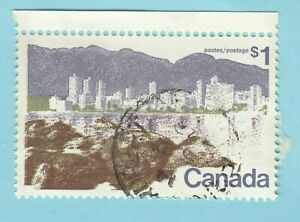 Canada stamp 1972 Sc#599 A.294 1 dollar  Vancouver - used  R.210