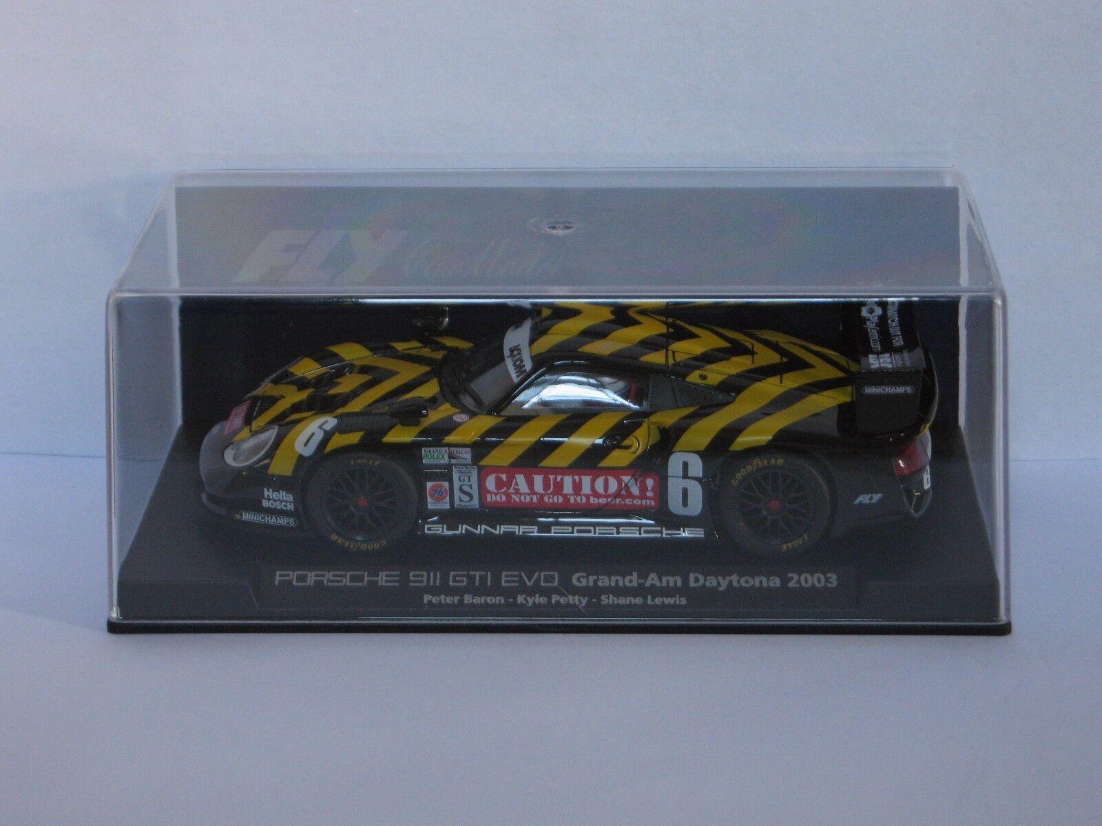 FLY Car Porsche 911 GT1 EVO Grand-Am Daytona 2003 Refs. A50 & 88074