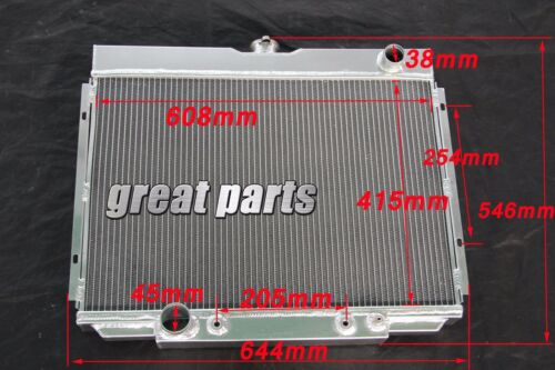 3 Rows 1967-1969 Ford Fairlane BIG BLOCK V8 ALUMINUM RADIATOR