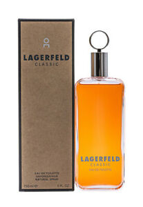 Lagerfeld Classic by Lagerfeld 5 oz EDT Cologne for Men New In Box