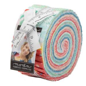 Moda-Gypsy-Soul-Jelly-Roll-2-5-034-Fabric-Quilting-Strips-30620JR-J06-J13