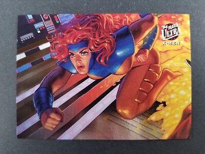 1994 Fleer Ultra X-Men Trading Card Portrait #9 Jean Grey