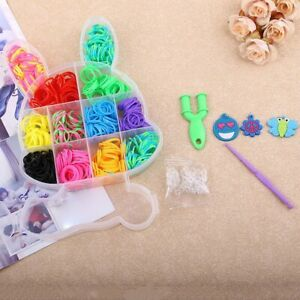 Rabbit-Boxed-Loom-Band-DIY-Bracelet-Weaving-Machine-Colorful-Rubber-Band