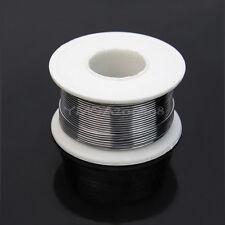Nuevo 63/37 1mm Alambre Cable Soldadura Soldar Estaño FLUX 2% Longitud 13M ag7e