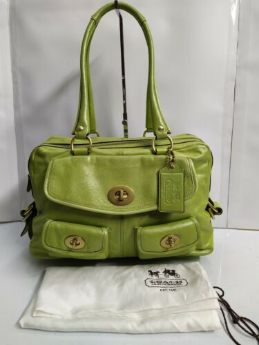 COACH Bleecker Archive Limited Edition Lime Green
