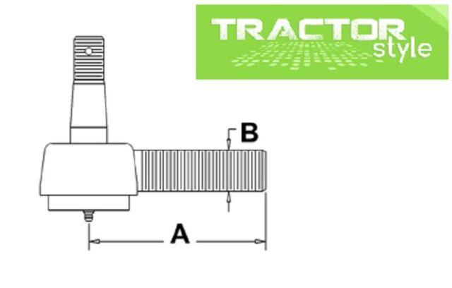 527658R91 Tractor Tie Rod Inner RH International Case IH on