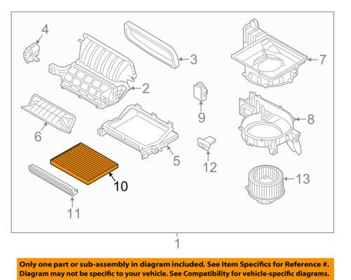 HYUNDAI OEM 11-15 Sonata-Cabin Air Filter 3SF79AQ000