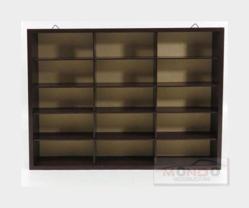 Display Box Espositore Aperto Cm 41.5 X 5.5 X 32.2 Wood 1:43 MAGBL55 Open