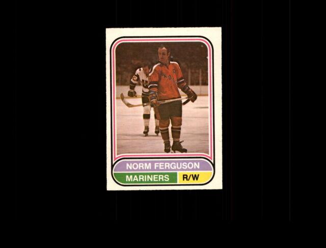 1975 O-Pee-Chee WHA 92 Norm Ferguson NM #D505055
