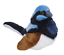FAIRY-WREN-PLUSH-BIRD-W-SOUND-BIRDS-WITH-REAL-CALLS-BY-WILD-REPUBLIC thumbnail 1