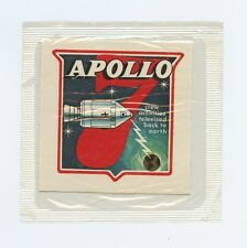 Vintage 1969 Kellogg's Man in Space = NASA Sticker Patch = Apollo 7