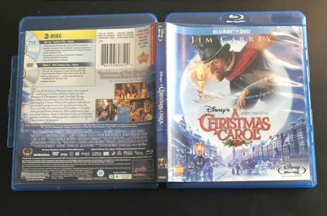 Disneys A Christmas Carol (Blu-ray/DVD, 2010, 2-Disc Set) for sale online | eBay