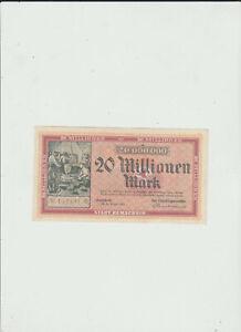 REMSCHEID-20-MILLIONEN-MARK-1923