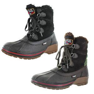 Pajar Banff 2 Mens Waterproof Duck Snow Boots Wool Lined EBay