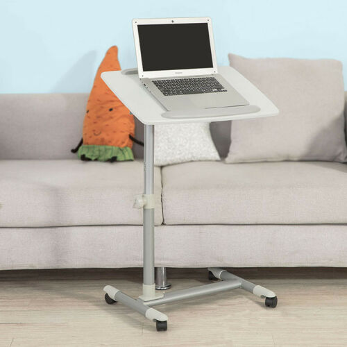SoBuy® Pflegetisch, Betttisch, Beistelltisch,Laptoptisch,Tisch,FBT07N2-W