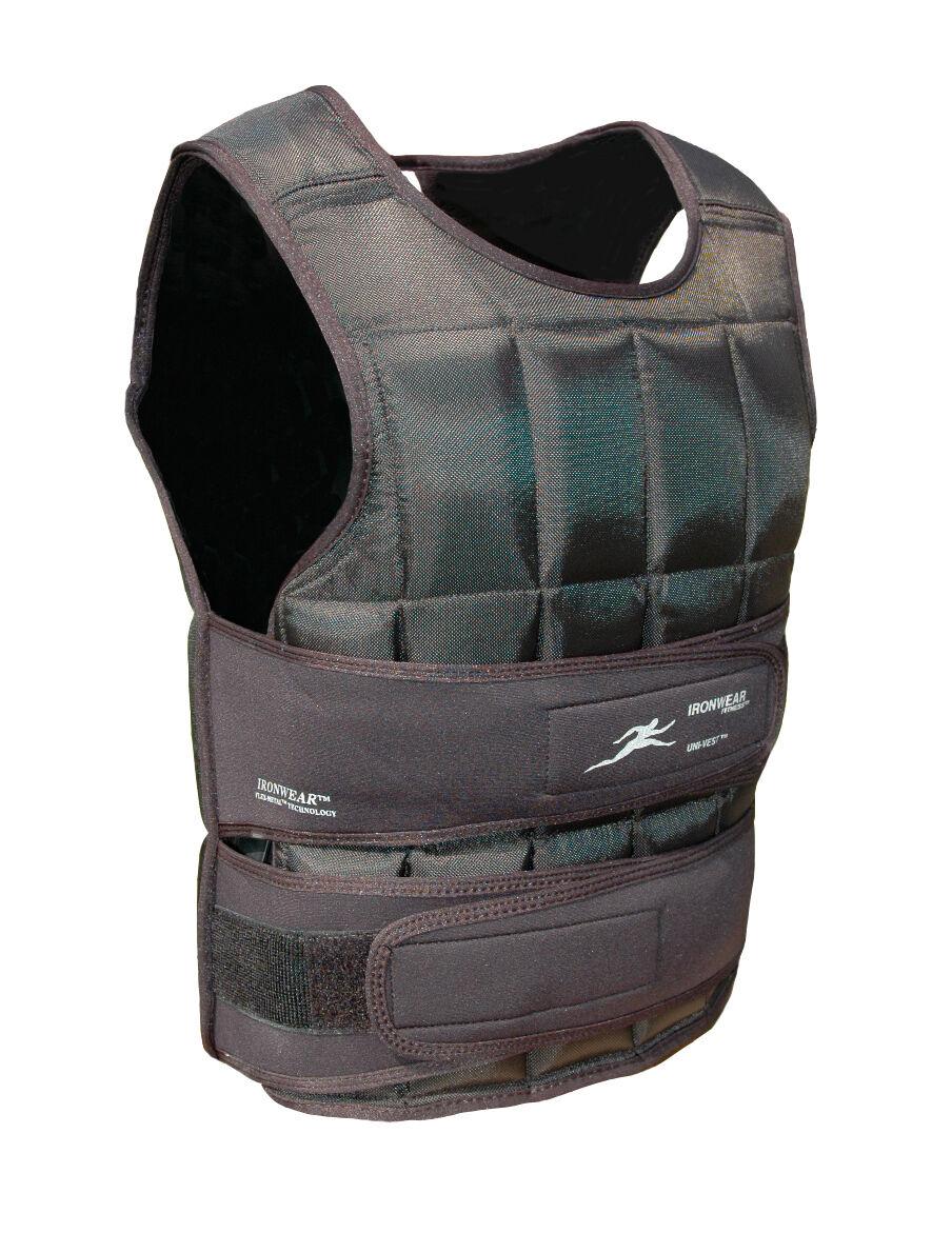 5lbs Ironwear ® corto Uni-Chaleco ® Suave Delgada 1 2lb Flex-Metal ® Hecho en EE. UU. envío gratuito