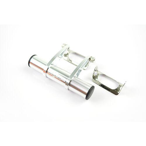 KREX Aluminum Bike Light / Computer / Mount / Adapter - Silver