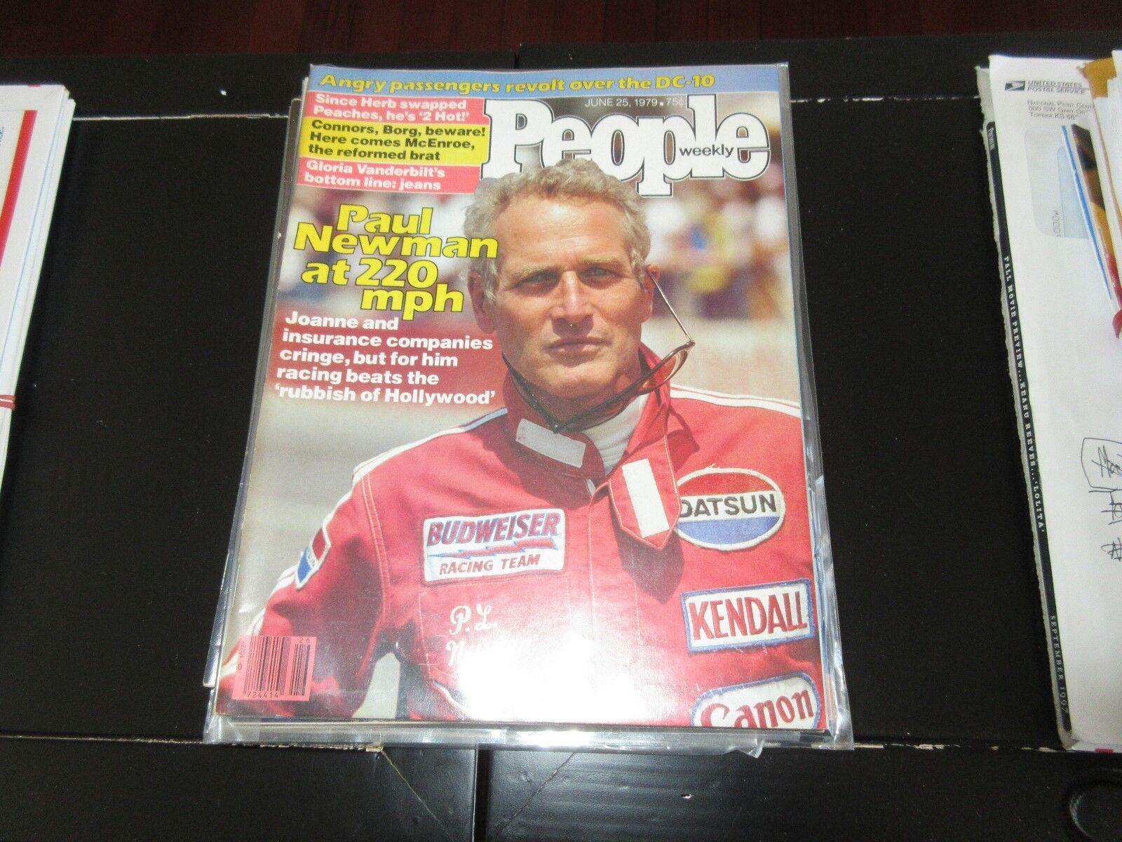 Paul Newman , PEOPLE , 6/25/79 , Peaches & Herb , McEnr