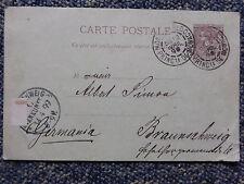 Monaco: Postkarte Carte Postale aus 1899 Monte Carlo - Braunschweig - ansehen