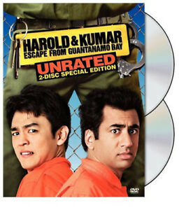 Harold-amp-Kumar-Escape-from-Guantanamo-Bay-DVD-2013-2-Disc-Set-Unrated
