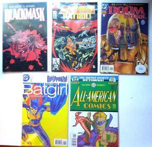 5-Lot-Comic-Book-bundle-DC-Comic-Collection