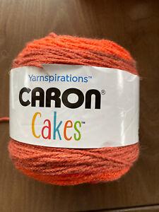 Caron-Big-Cakes-Yarn-Cinnamon-Swirl-7-1-Oz-Multi-Colors-Free-Shipping-NEW
