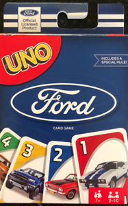 UNO FORD Card Game Heritage Collection NEW