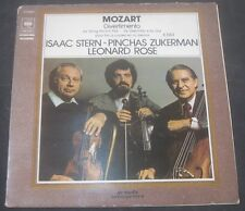 Mozart Divertimento Stern Zuckerman Rose CBS  76381 GATEFOLD LP