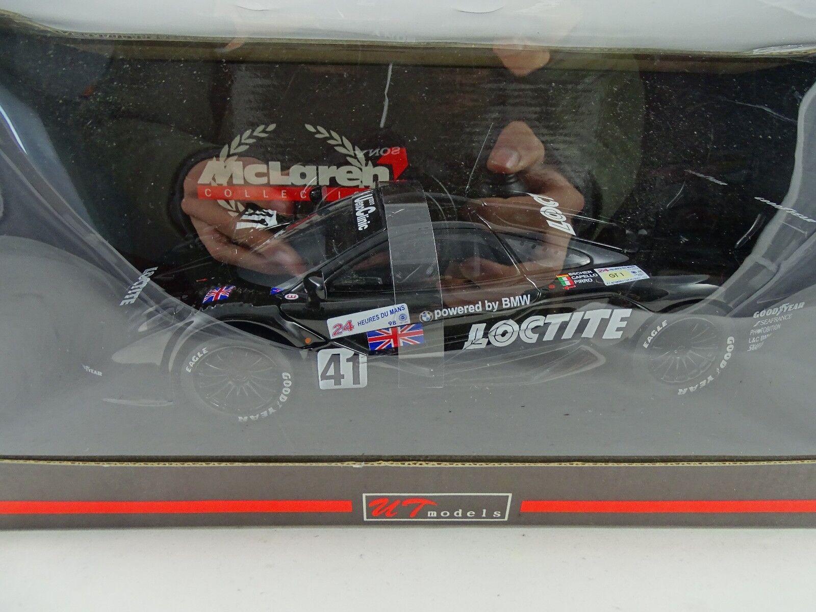 1:18 Autoart  Ut 39821 Mclaren F1 GTR Le Mans Loctite 41 2018 - Rareza Nuevo
